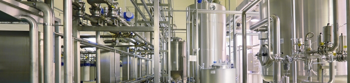 Department filtering, the interior of the brewery